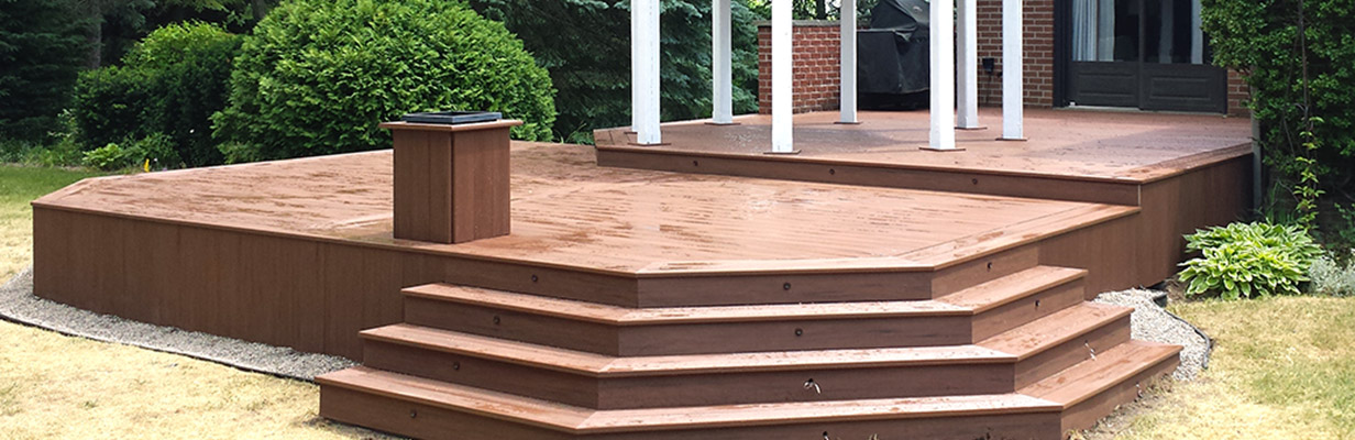 Finished deck project examples
