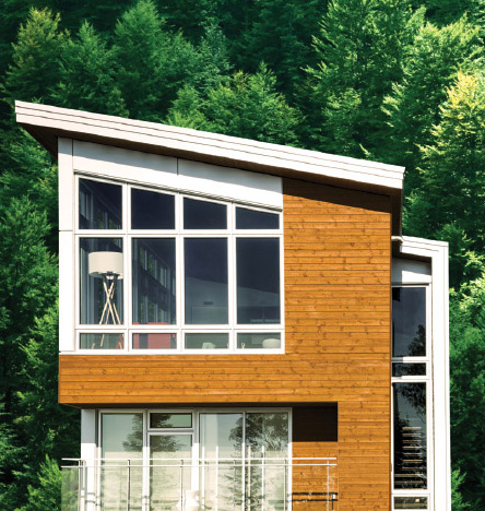 Maibec Genuine Wood Siding example