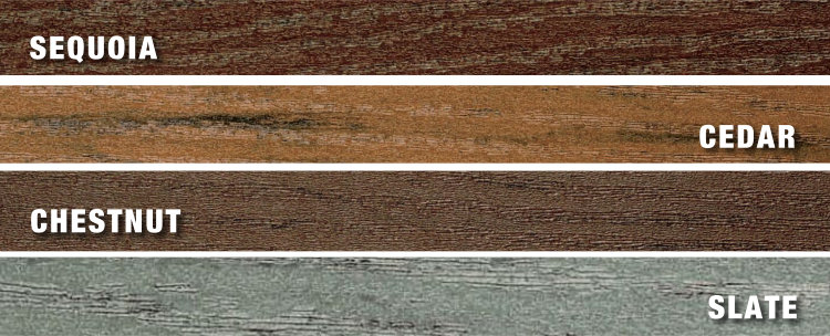 Endeck Forest series, deck colours